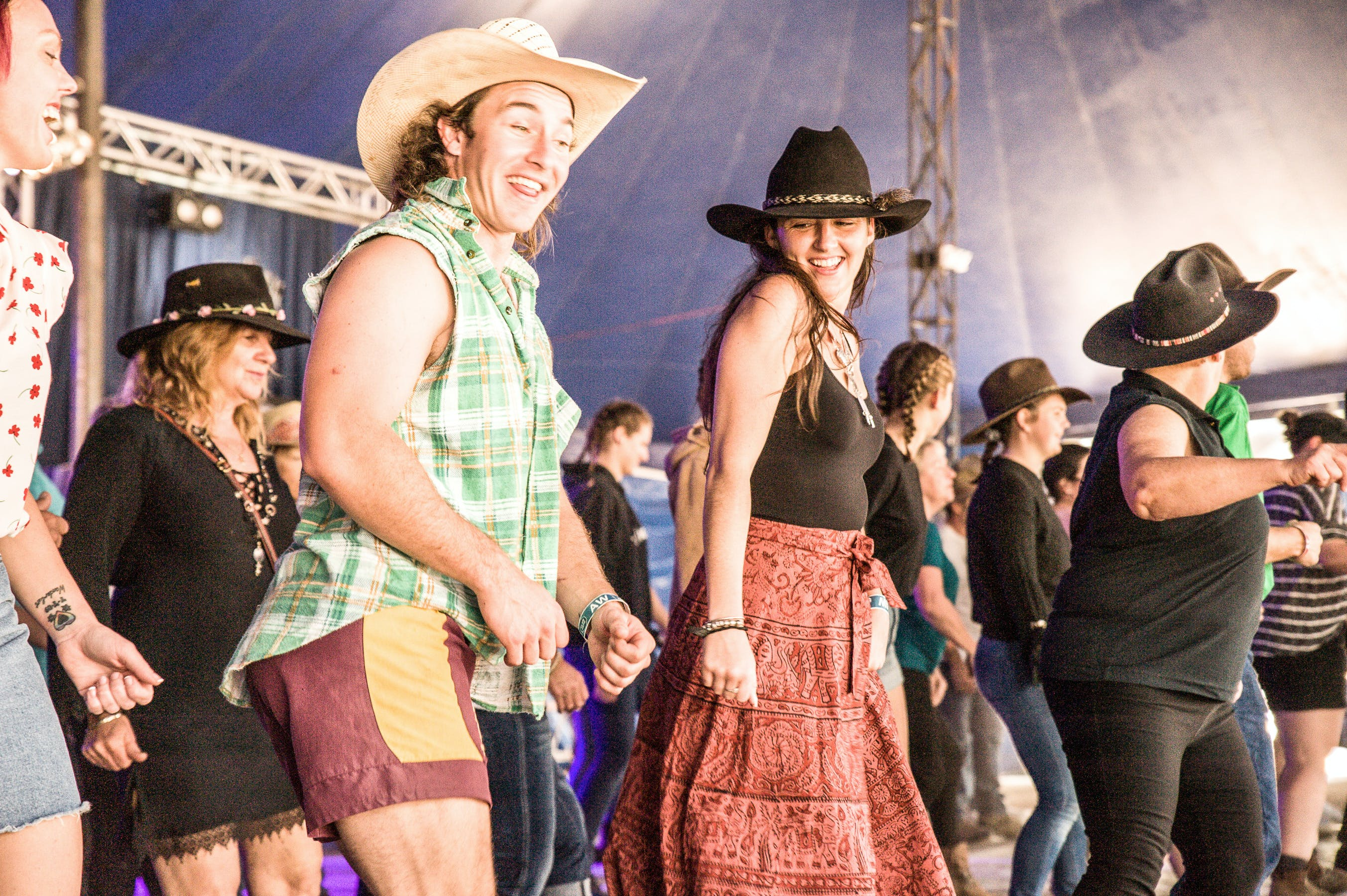 Gympie Music Muster Logo and Images