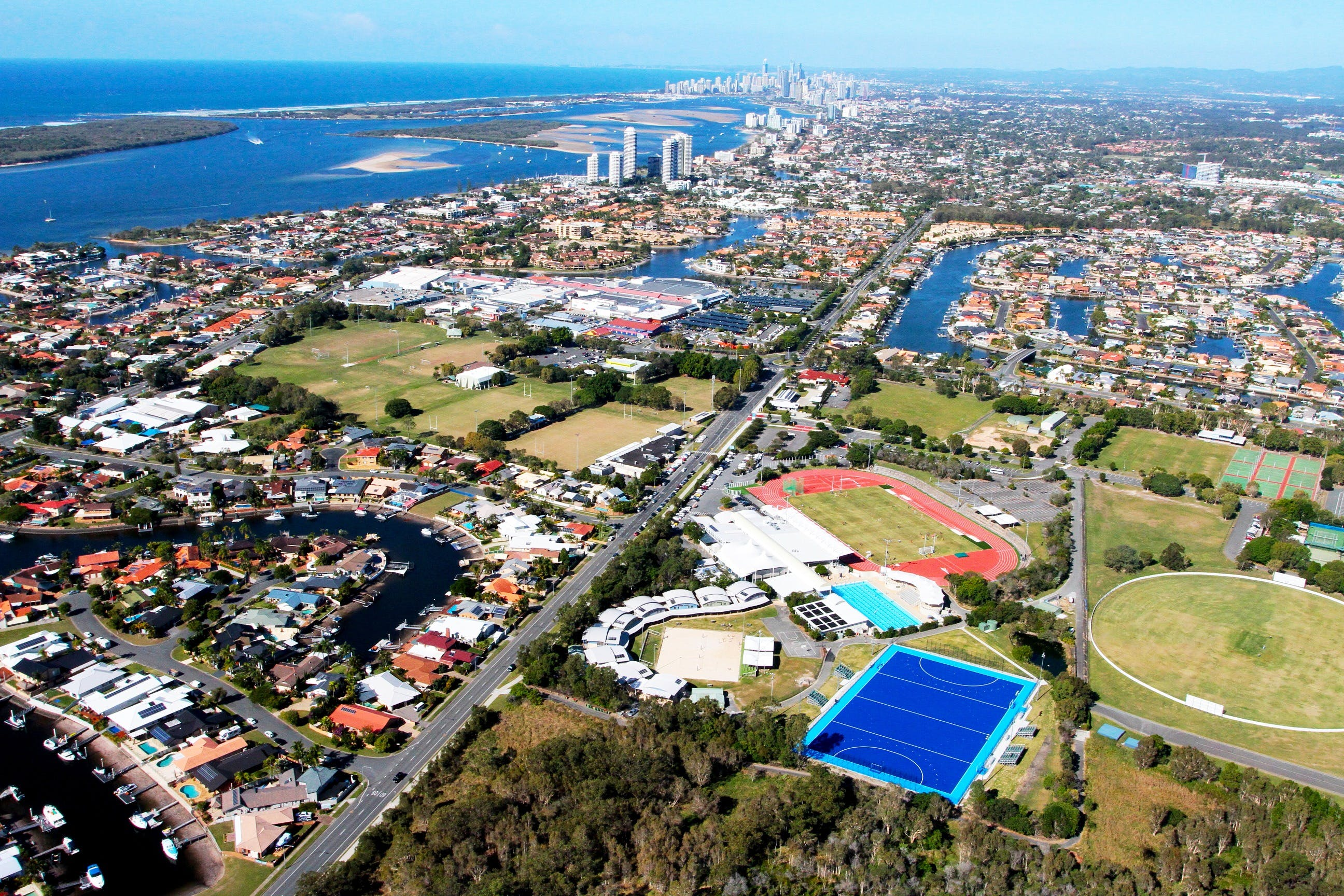 Gold Coast Triathlon Training Logo and Images
