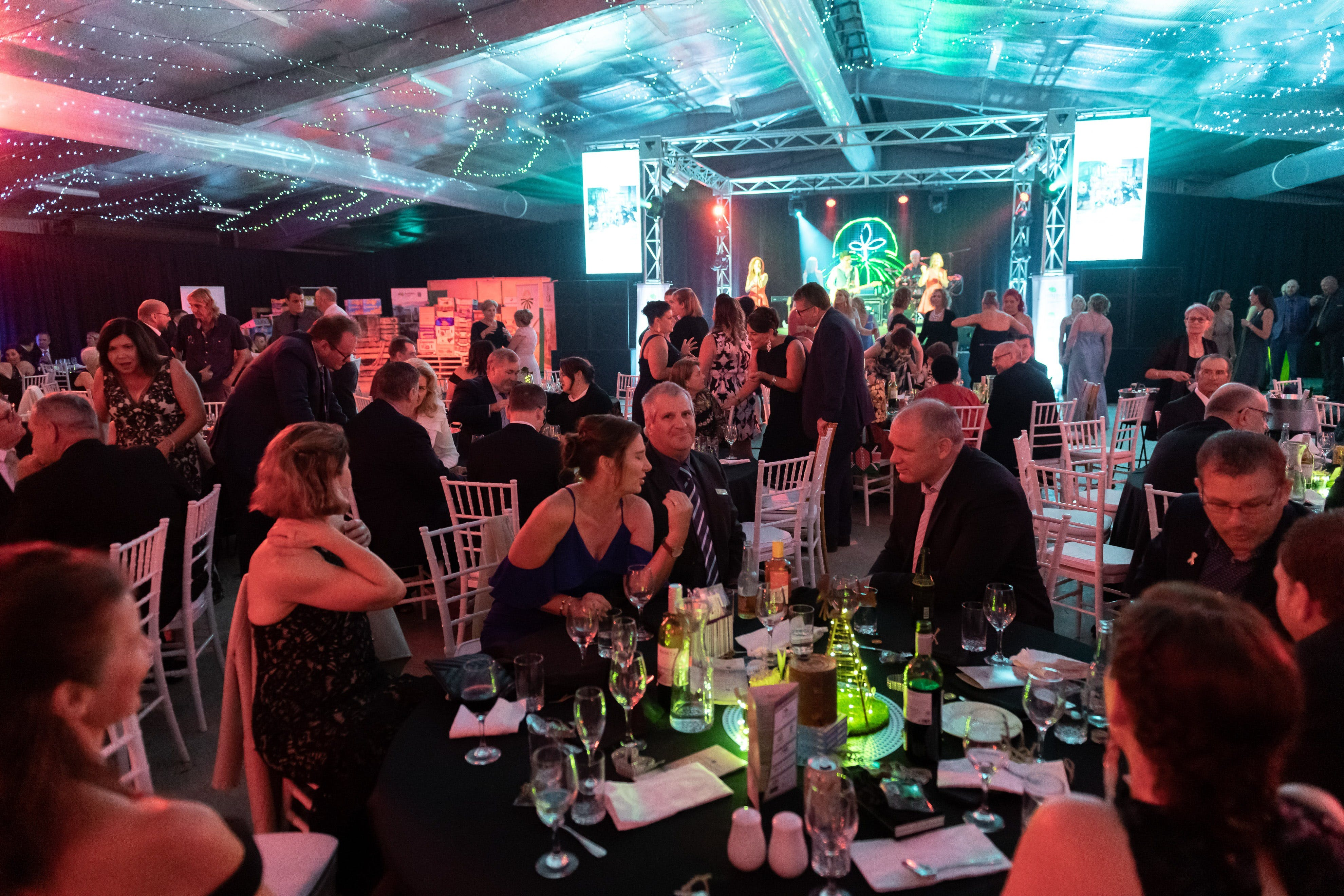 Bundaberg Fruit and Vegetable Growers Biennial Industry Gala Dinner 2021 Logo and Images