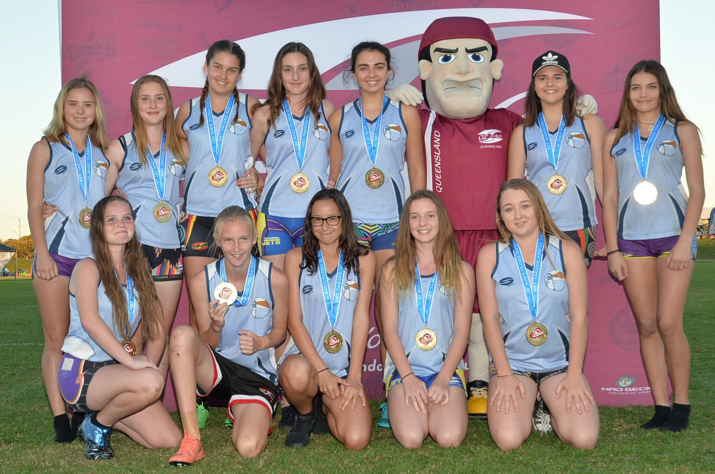 Queensland Oztag All Schools State Finals Logo and Images