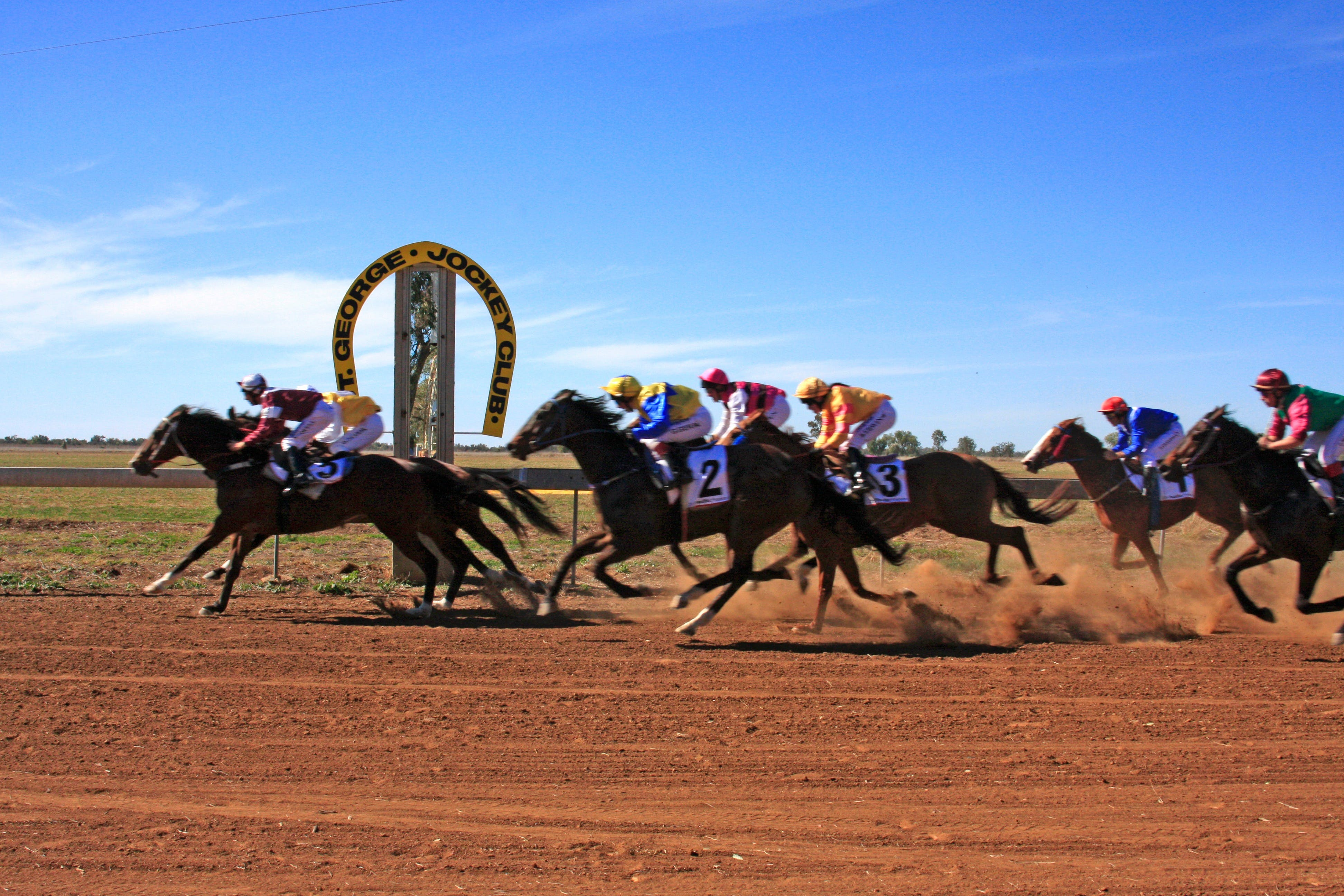 St George Cup Race Logo and Images