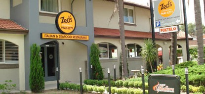 Zed's At The Inn Logo and Images