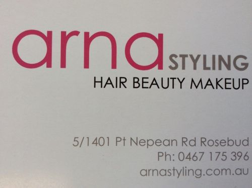 Arna styling Logo and Images