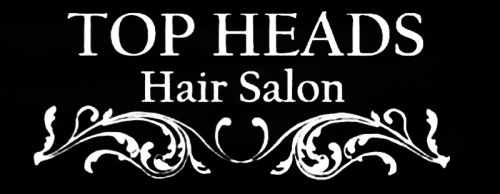 Top Heads Hair Salon Logo and Images