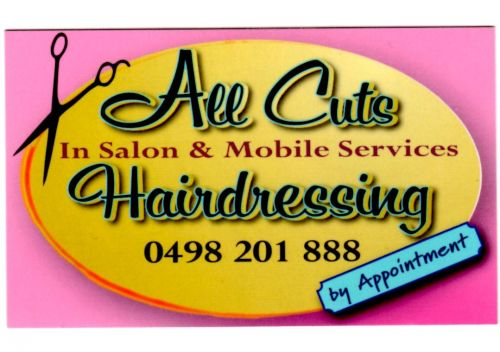 All Cuts Hairdressing Logo and Images