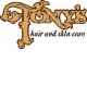 Tony's Hair & Skincare Logo and Images