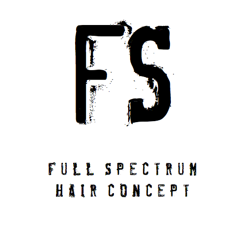 Full Spectrum Hair Concept Logo and Images