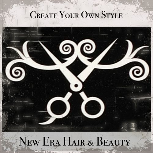 New Era Hair & Beauty Logo and Images