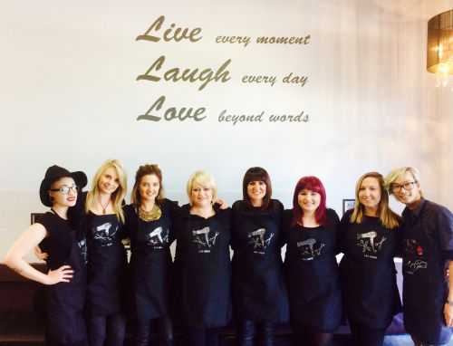 Innovation Hairdressing Logo and Images