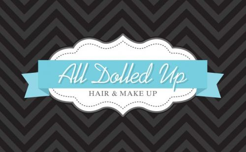All Dolled Up Hair & Makeup Logo and Images