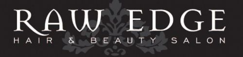 Raw Edge Hair and Beauty Salon Logo and Images