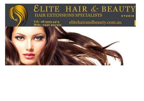 Elite Hair and Beauty Logo and Images