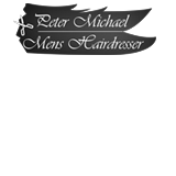 Peter Michael Mens Hairdresser Logo and Images