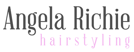 Angela Richie Hairstyling Logo and Images