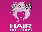Hair on Helios Logo and Images