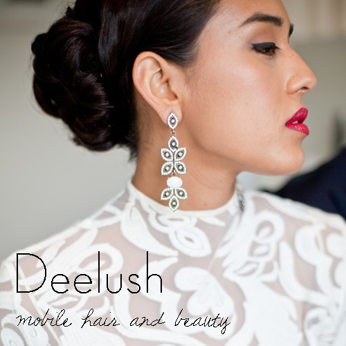 Deelush mobile Hair & Beauty Logo and Images