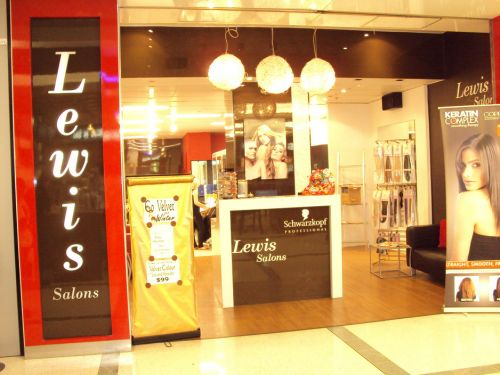 Lewis Salon Logo and Images