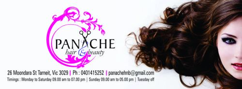 Panache Hair & Beauty Salon Logo and Images