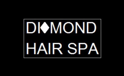 Diamond Hair Spa Logo and Images