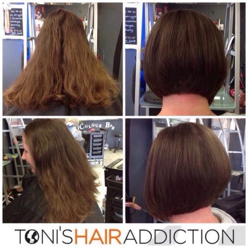 Toni's Hair Addiction Logo and Images