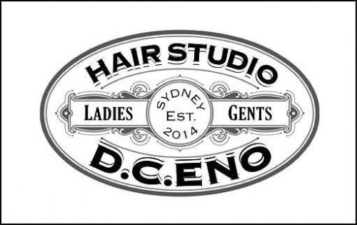 D C ENO Hair Studio Logo and Images