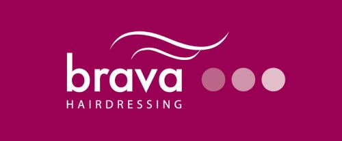 Brava Hairdressing Logo and Images