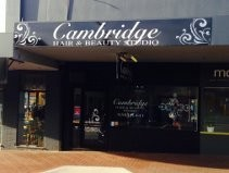 Cambridge Cut Unisex Hairdressers Logo and Images
