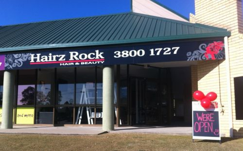Hairz Rock Logo and Images