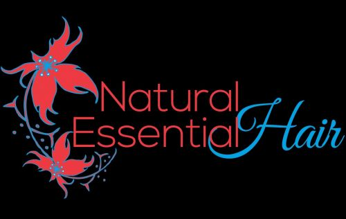 Natural Essential Hair Logo and Images
