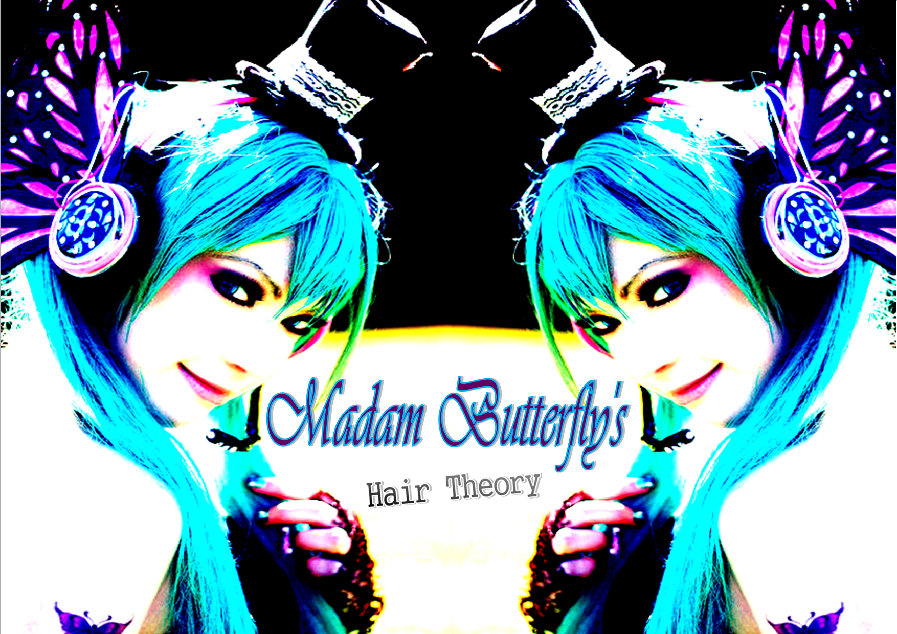 Madam Butterfly's Hair Theory Logo and Images