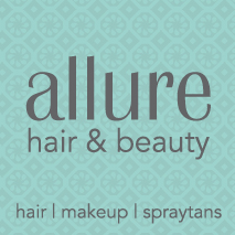 Allure Hair & Beauty Logo and Images