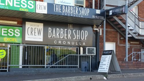 the Barber Shop cronulla Logo and Images