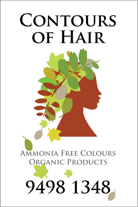 Contours Of Hair Logo and Images