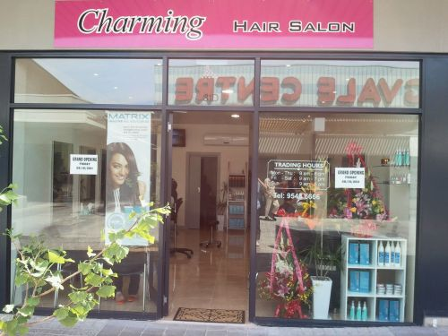 Charming Hair Salon Logo and Images