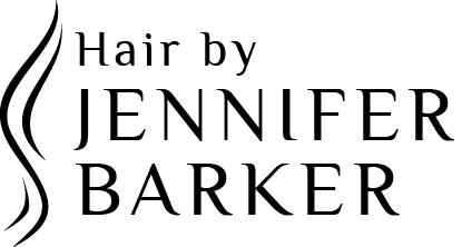 Hair by Jennifer Barker Logo and Images