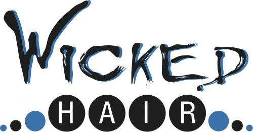 Wicked Hair and Beauty Logo and Images