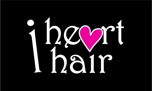 I Heart Hair Logo and Images