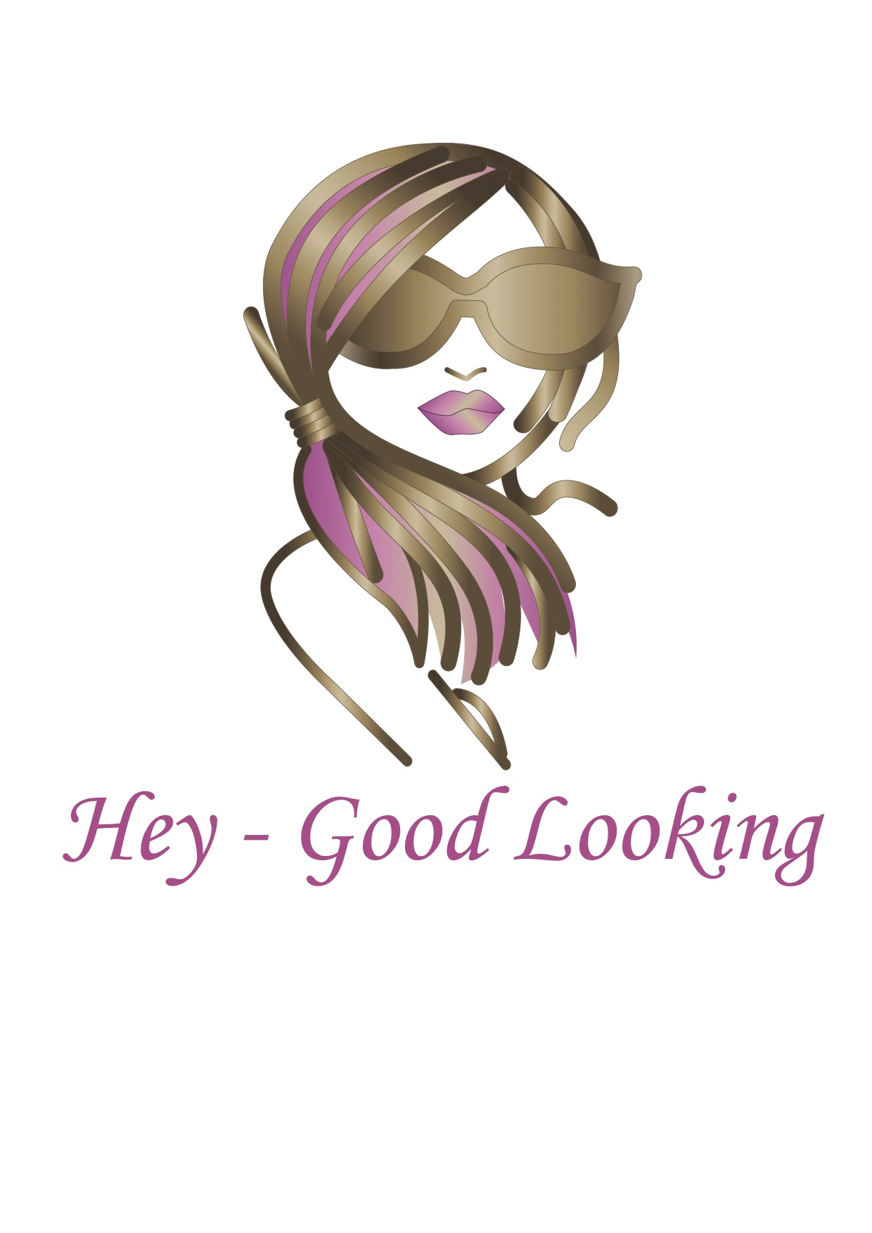 Hey - Good Looking Hair and Beauty Logo and Images