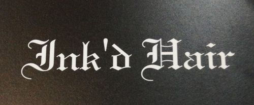Ink'd Hair Logo and Images