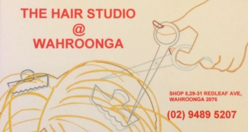The Hair Studio at Wahroonga Logo and Images
