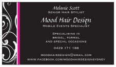Mood Hair Design Logo and Images