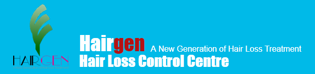 Hairgen Hair Loss Control Centre Logo and Images
