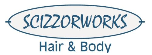 Scizzorworks Hair Design Logo and Images