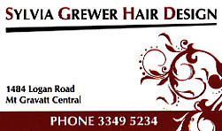 Sylvia Grewer Hair Design Logo and Images