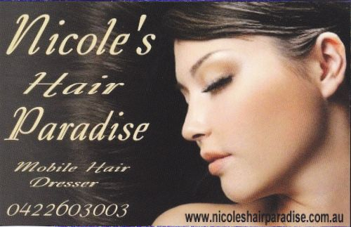 Nicole's Hair Paradise Logo and Images