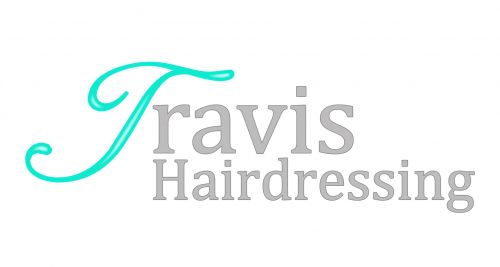Travis Hairdressing Logo and Images