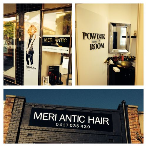 Meri Antic Hair Logo and Images