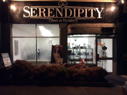 Serendipity Hair at Lilydale Logo and Images
