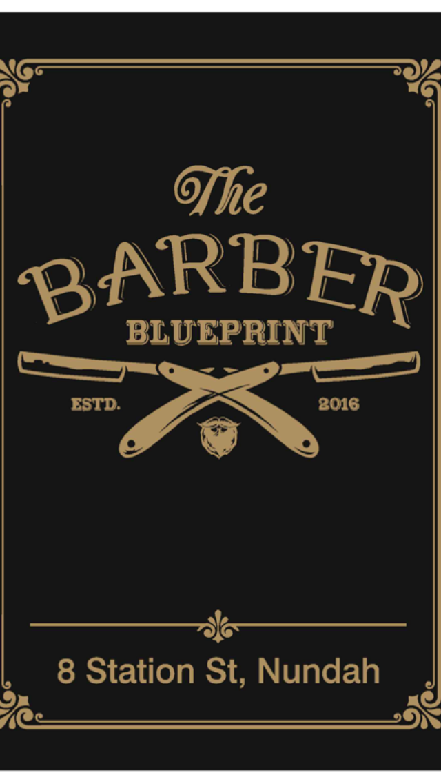 The Barber Blueprint Logo and Images