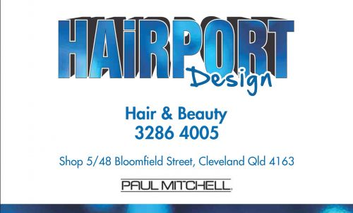 Hairport Design Logo and Images